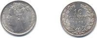 10 Cent 1903 Wilhelmina of dubbeltje Nearl...