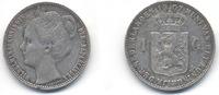 1 Gulden 1907 Wilhelmina  s+