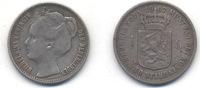 ½ gulden 1907 Wilhelmina  s+