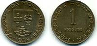 1936 Mozambique Escudo Extremely fine +