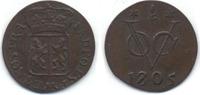 Duit 1805 Dutch East Indies VOC Gelderland...