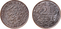 2½ Cent 1919 Wilhelmina  unz