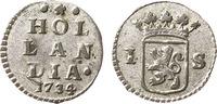 1734 Holland Wapenstuiver Very fine