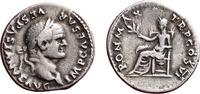 Denarius 75 Roman  Very fine