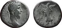 Sestertius 166 Roman  Almost fine