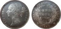 1840 India Rupee 1840 MS 63