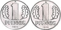 1 Pfennig 1975 DDR 1 Pfennig 1975 Abschlag...
