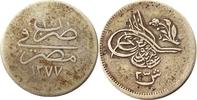 2,5 Quirsh 1869 Ägypten 2,5 Quirsh 1869 --...