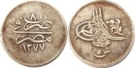 5 Quirsh 1867 Ägypten 5 Quirsh 1867 -- sel...
