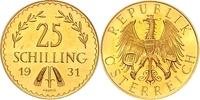 25 Schilling 1931 Österreich 25 Schilling ...