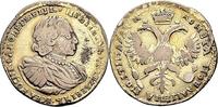 1/2 Rubel 1720 Russland Poltina (1/2 Rubel...