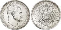3 Mark 1909 Reuss . Reuss f. stempelglanz