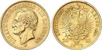 20 Mark 1873 Sachsen Johann, 1854-1873. vo...