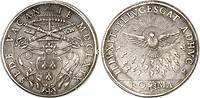 Piastra 1669 Vatikan Sedisvakanz 1669 sehr...