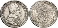 Piastra 1676 Vatikan Innocenz XI., 1676-16...