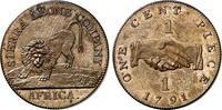 cent 1791 Sierra Leone Britische Kolonie. ...