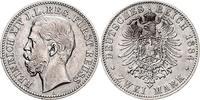 2 Mark 1884 Reuss Reuss - Schleiz Heinrich...