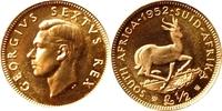 1/2 Rand 1952 Südafrika Südafrika Münze in...