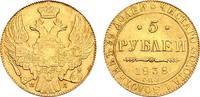 Russland Nikolaus I. 1825-1855. 5 Rubel 1838. St.