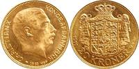20 Kronen 1914 Danemark 20 Kronen 1914 Dan...