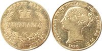 1/2 Sovereign 1856 Australien 1/2 Sovereig...