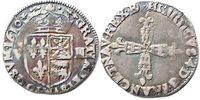 1/4 Ecu 1610 Frankreich 1/4 Ecu 1610 * - F...