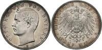 5 Mark 1891 Bayern . Bayern -- seltene Erh...