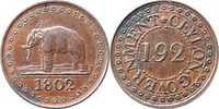 1/92 Rix-Dollar 1802 Ceylon 1/92 Rix-Dolla...