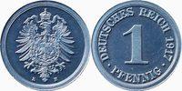 1 Pfennig 1917 E Kaiserreich 1 Pfennig 191...