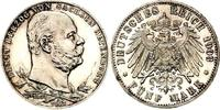 5 Mark 1903 Sachsen - Altenburg 5 Mark 190...