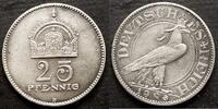 25 Pfennig Probe 1908 Kaiserreich 25 Pfenn...