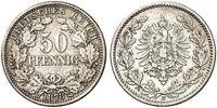 50 Pfennig 1878 Kaiserreich 50 Pfennig Eic...