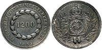 1200 Reis 1834 Brasilien 1200 Reis 1834 Br...