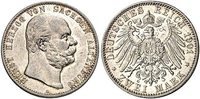 2 Mark 1901 Sachsen-Altenburg 2 Mark 1901 ...
