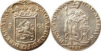 3 Gulden 1793 Niederlande UTRECHT vorzügli...