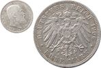 5 Mark 1906 Württemberg . 5 Mark 1906 selt...
