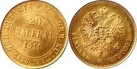 20 Markka 1911 Finnland Finnland/ Russland...