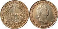 Zloty 1827 Polen Nikolaus I. von Rußland 1...