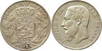 Franc 1865 Belgien 5 Franc 1865 Belgien --...