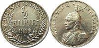 Rupie 1909 Ostafrika 1/2 Rupie 1909 A -- D...