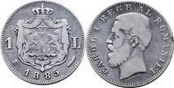 Leu 1885 Rumänien 1 Leu 1885 Rumänien - se...