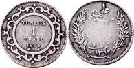 Franc 1894 Tunesien 1 Franc 1894 Tunesien ...