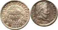 Franc 1808 Frankreich 1/2 Franc 1808 D (Ly...