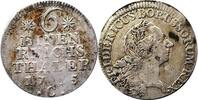 1/6 Taler 1765 Preussen 1/6 Taler 1765 C (...