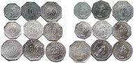 5 bis 50 Pfennig 1917 Deutschland 5 bis 50...