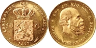 10 Gulden 1877 Niederlande 10 Gulden 1877 ...