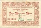 10 Mia. Mark 27.10.1923 Emmendingen - Stad...