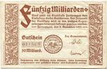 50 Mia. Mark 5.11.1923 Furtwangen (Baden) ...