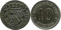 10 Pf 1918, Treuchtlingen (Bayern) -  Stad...