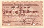 50 Mio. Mark 22.9.1923, Freudenstadt, Baie...